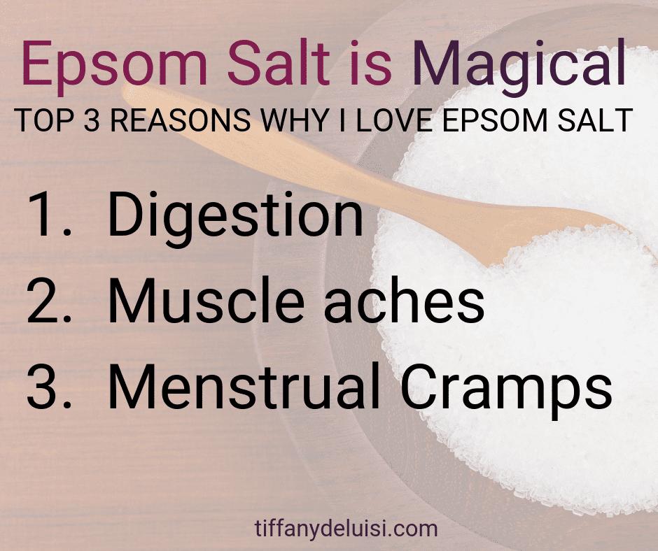 Epsom Salt is Magical